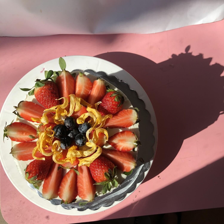 Кето торта маракуя и кайсия