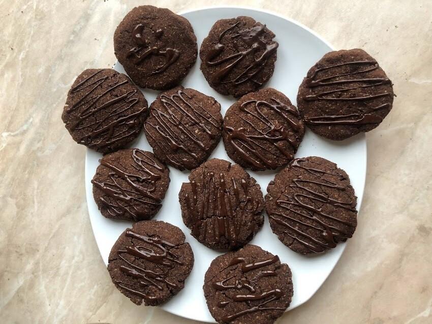 Кето шоколадови курабии
