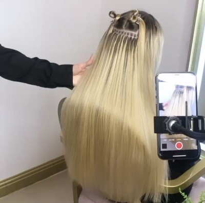 Nano Ring Online Hair Extensions Course