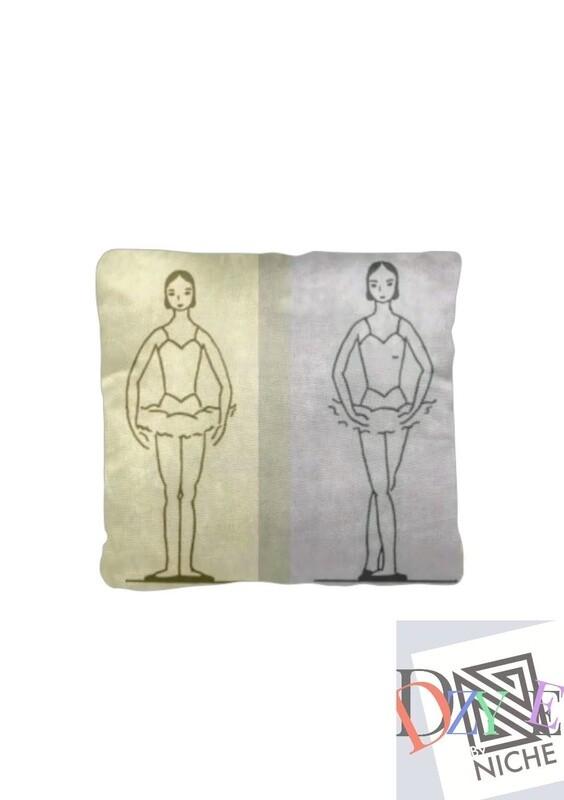 Ballet Positions Decorative Pillow