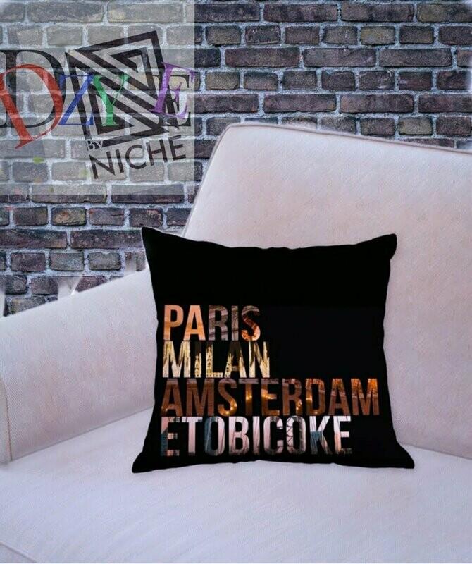 Toronto Decorative Throw Pillow