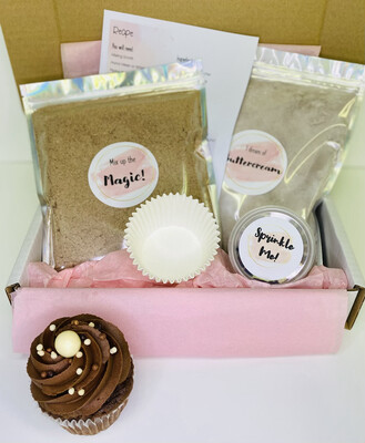 B.I.Y Cupcake Kit - Simply Chocolate
