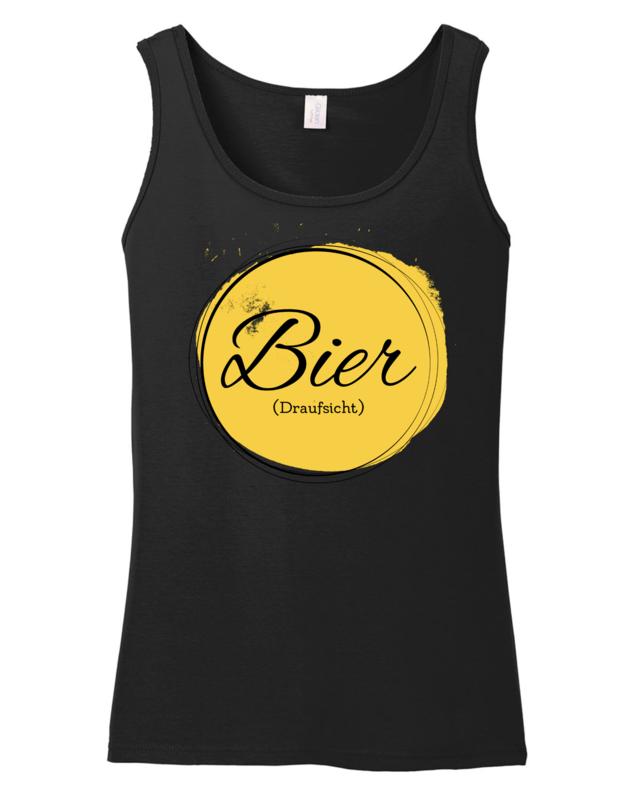 Tanktop Ernährungsberatung (Damen) - Bier