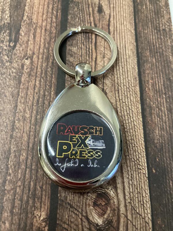 RauschExPress Schlüsselanhänger mit Einkaufschip