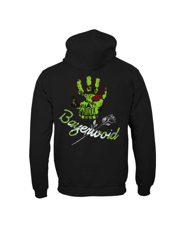 Hoodie Bayerwoid Gangsta (Uni)