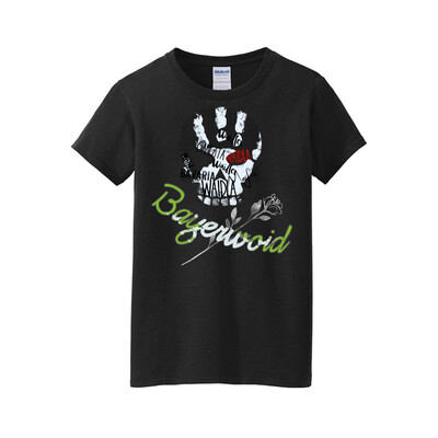 Shirt Bayerwoid Gangsta weiß (Herren)
