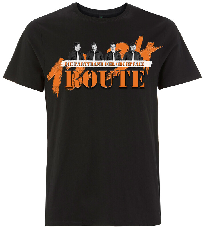 Shirt Herren - Partyband Route 1234
