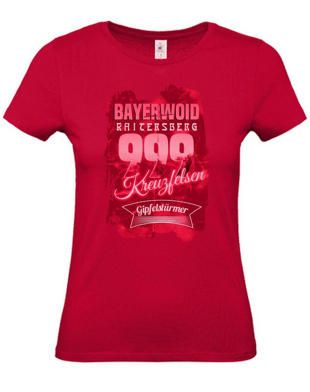 Shirt (Damen) Kreuzfelsen rot