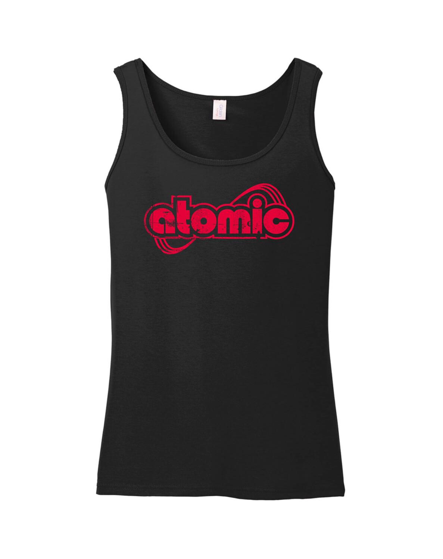 Tanktop Atomic schwarz