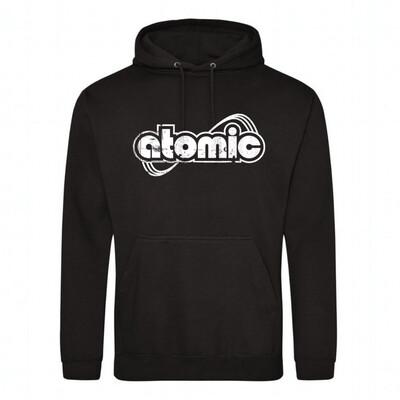 Hoodie Atomic schwarz