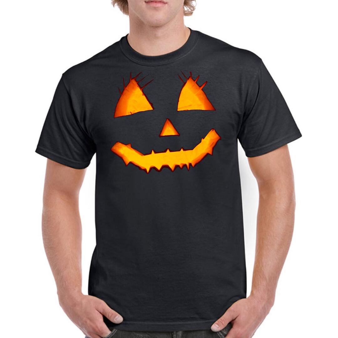 Shirt Herren - Halloween / Pumkin