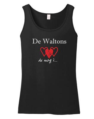Tanktop - Die Waltons - schwarz (Damen)