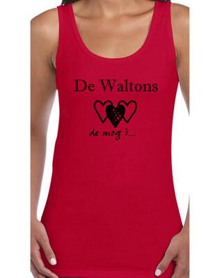 Tanktop - die Waltons - rot (Damen)