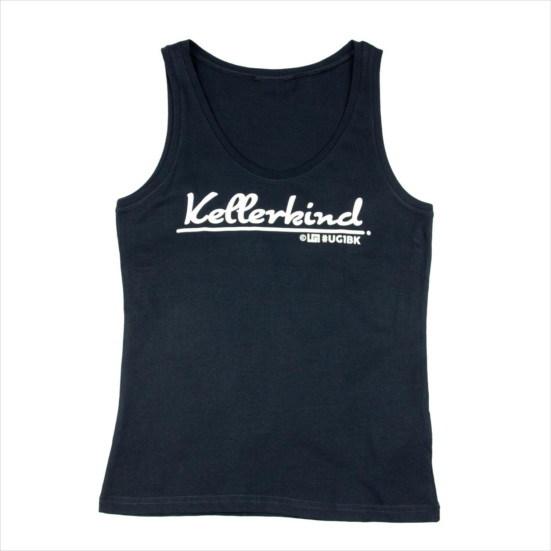 UG1 - Kellerkind T-Shirt - Schwarz / Weiß (Women)