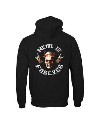 Hoodie - Metal is Forever (Uni)