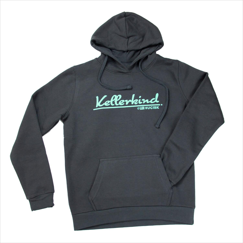 Hoodi - UG1 Kellerkind - Grau / Mint (Women)