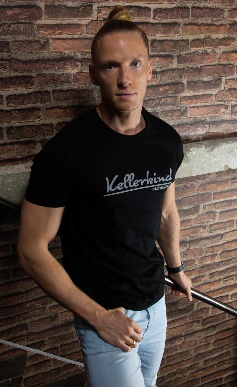 UG1 - Kellerkind T-Shirt - Schwarz / Grau (Men)