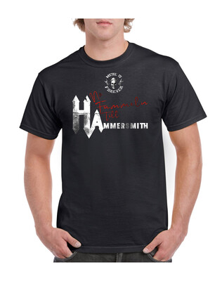 Shirt - Metal is Forever, no fummeln till Hammersmith.- (Herren)