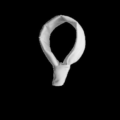 Old Fashioned Necktie - White