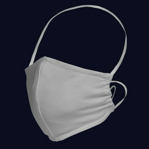 Face Mask Reusable Embroidered