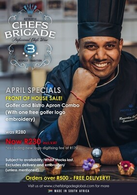 APRIL SPECIAL - FRONT OF HOUSE SPECIAL