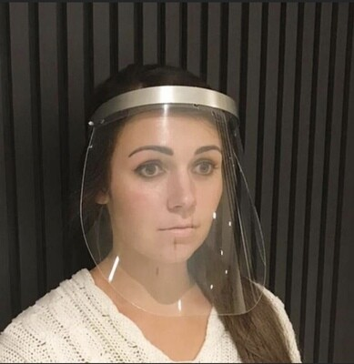 Deluxe Face Protection Shield
