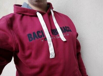 Felpa Baci & Abbracci rubino