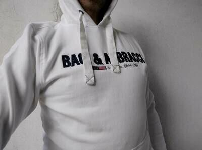 Felpa Baci & Abbracci bianca
