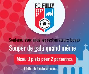 Menu de soutien FC Fully 2021 (2 pers.)