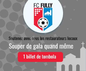 Bon de tombola FC Fully 2021