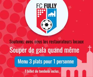 Menu de soutien FC Fully 2021 (1 pers.)