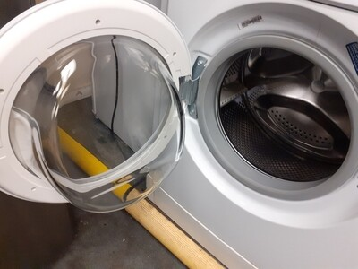 INDESIT  WASHING MACHINE A RATED 6KG  LOAD MODEL IWC6105W