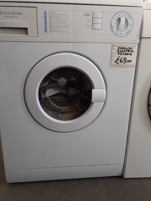 HOTPOINT ENGLISH ELECTRIC 5KG WASHING MACHINE EE120A