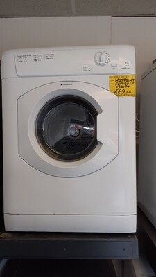 HOTPOINT FIRST EDITION VENTED TUMBLE DRYER 6Kg 6 MONTHS WARRANTY FETV60CP