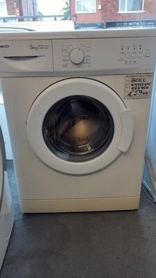 BEKO WASHING MACHINE WM5100W3 MONTHS WARRANTY (TRADE IN)