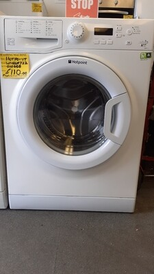 HOTPOINT 7KG A++ EXPERIENCE 1200 SPIN SPEED MODEL WMEUF722 DIGITAL DISPLAY WASHING MACHINE