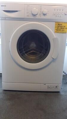BEKO BLACK WASHING MACHINE WM6143B 6 KG LOAD