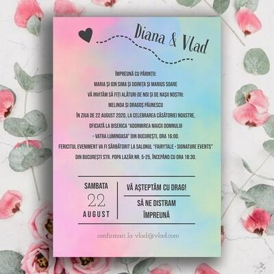 Invitatie Nunta NDV 017