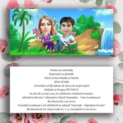 Invitatie Nunta NDV 057