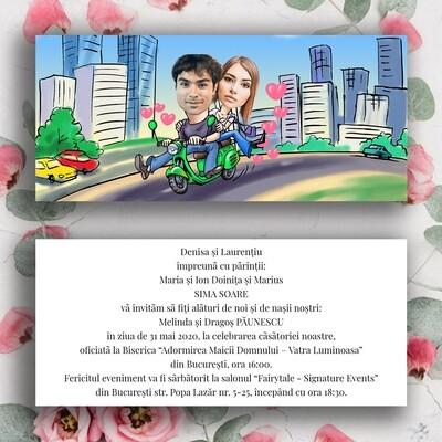 Invitatie Nunta NDV 058
