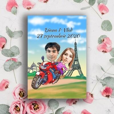 Invitatie Nunta NDV 054