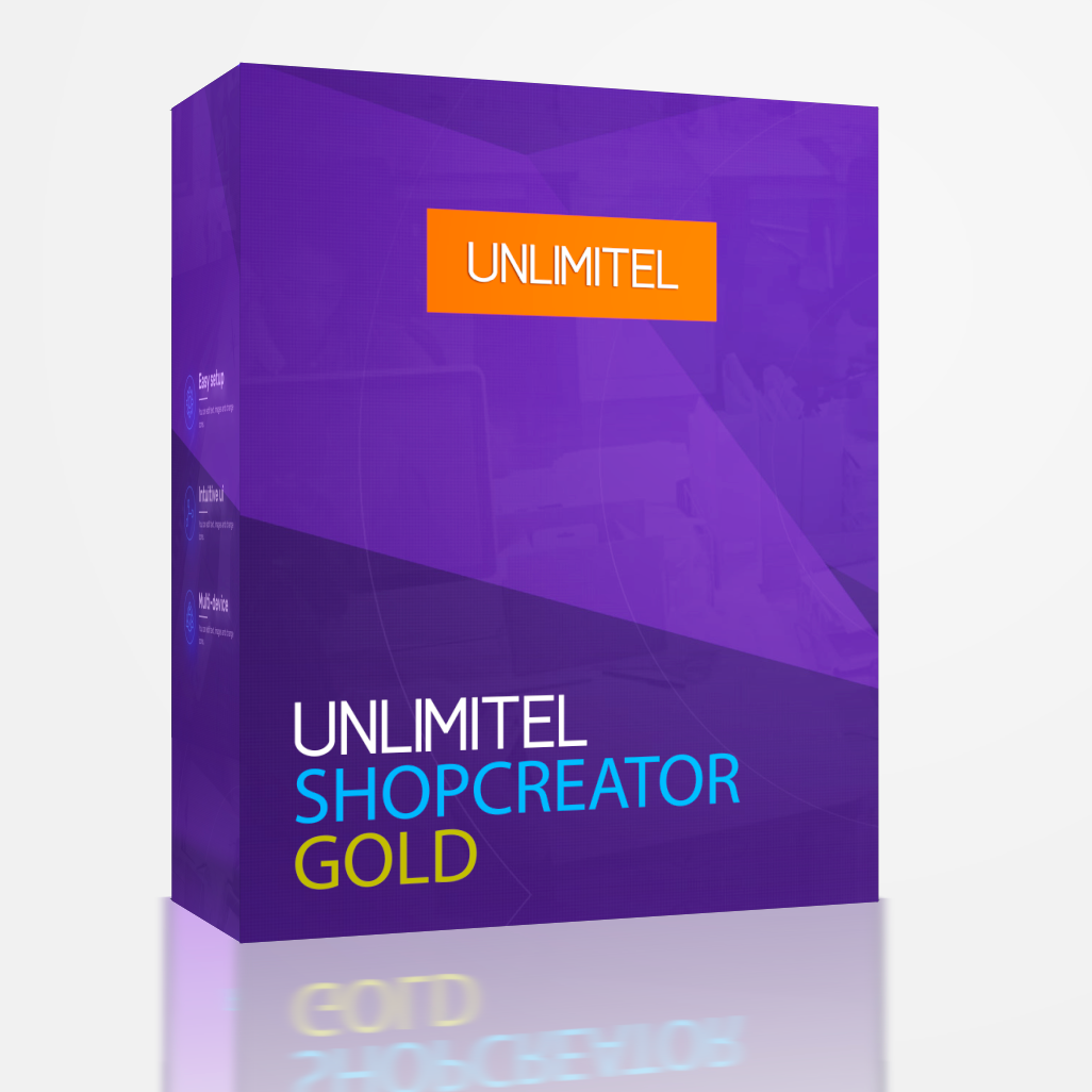 UNLIMITEL ShopCreator Gold