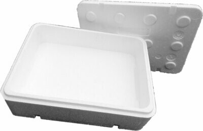 FB108 opakowanie styropianowe do wysyłki pudełko białe
