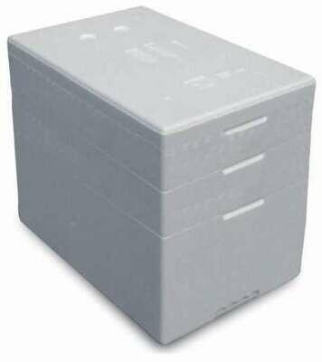 Termobox 56 pudełko termoizolacyjne 56 litrów styropianowe białe
