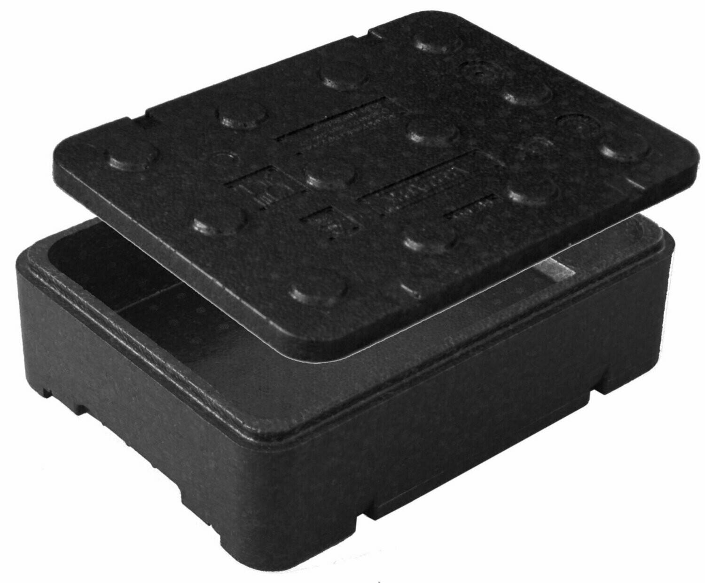 Czarne piocelan pudełko termoizolacyjne  FB108 z piocelanu  8 litrów