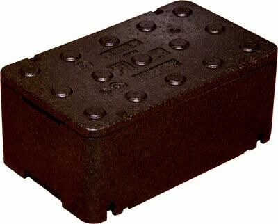 Czarny Fischbox 500x300x200 FB213 z Piocelanu 20,08 litra