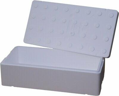 FB1700 pudełko styropianowe 80x40x23 42,40 litrów biały