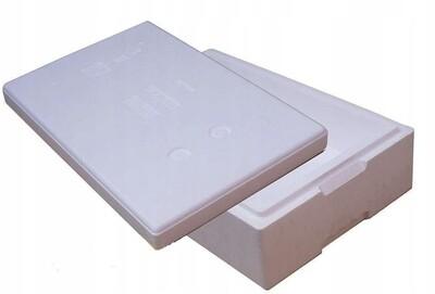 TB90 pudełko termoizolacyjne 13,5 litra styropianowe białe