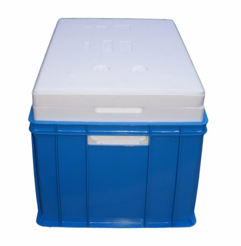 Skrzynka Termobox 44l z wkładem termoizolacyjnym