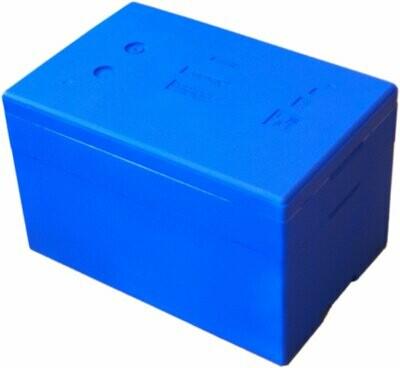 Niebieskie Pudełko Termobox z 1 Ringiem 44L